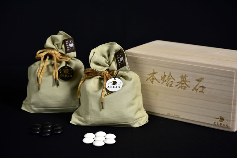 Kurokigoishiten's originally-produced storage bag for Go Stones